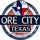 Ore City Texas rustic wood circle by artisticattitud