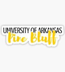 University Arkansas Pine Bluff Sticker
