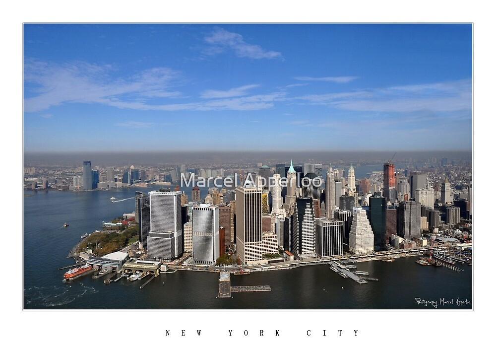 Good morning - Lower Manhattan, New York City by Marcel Apperloo