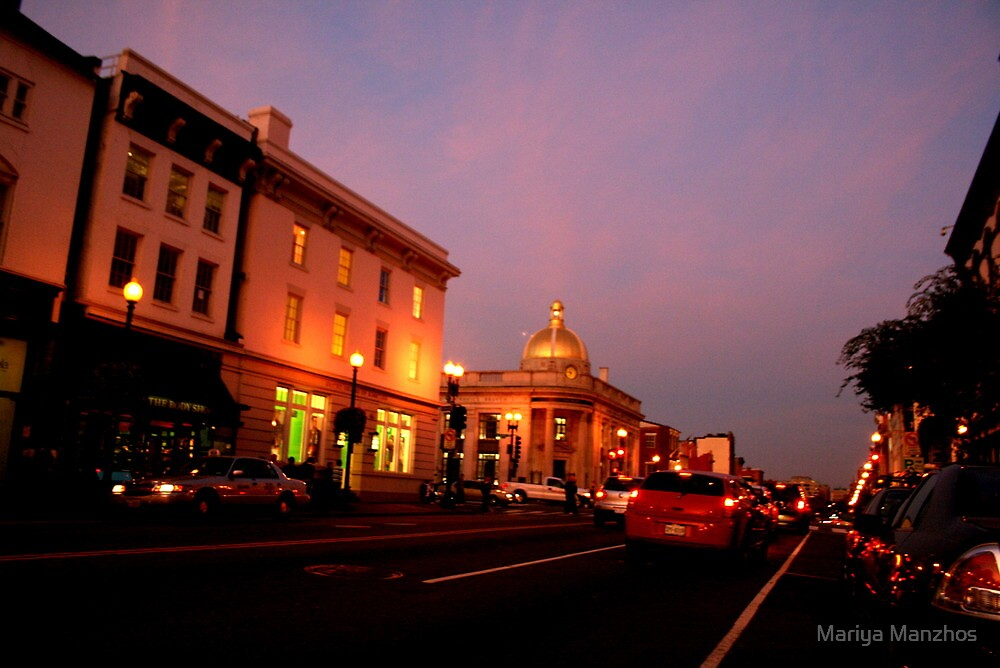 Georgetown, Washington DC 3 by Mariya Manzhos