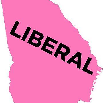 Liberal Georgia - light pink by wokesouth