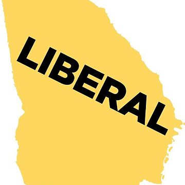Liberal Georgia - yellow by wokesouth