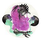 Chicken Spell by Karolina Koblenova