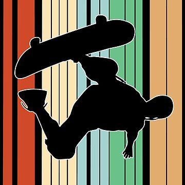 Skateboarding Funny Design - Id Rather Be Skateboarding by kudostees