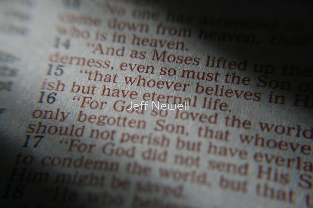 John 3:16 by Jeff Newell