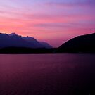 Sunrise over Lake Como by JLaverty