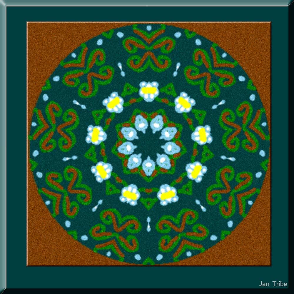 Hand drawn Kaleidoscope by Jan  Tribe