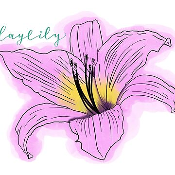 Movements daylily by Akqxxx