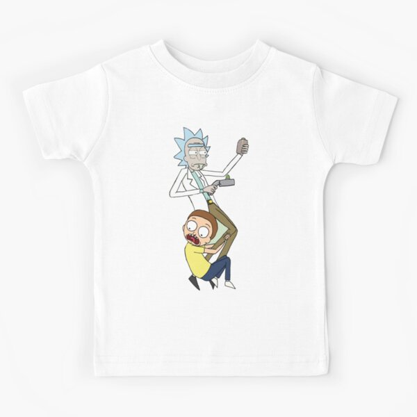 Rick And Morty Kids T-Shirt