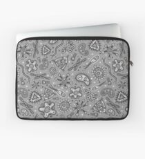 Microbes - Grey / Gray Laptop Sleeve