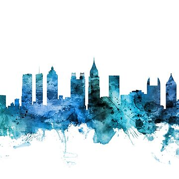 Atlanta Georgia Skyline by ArtPrints