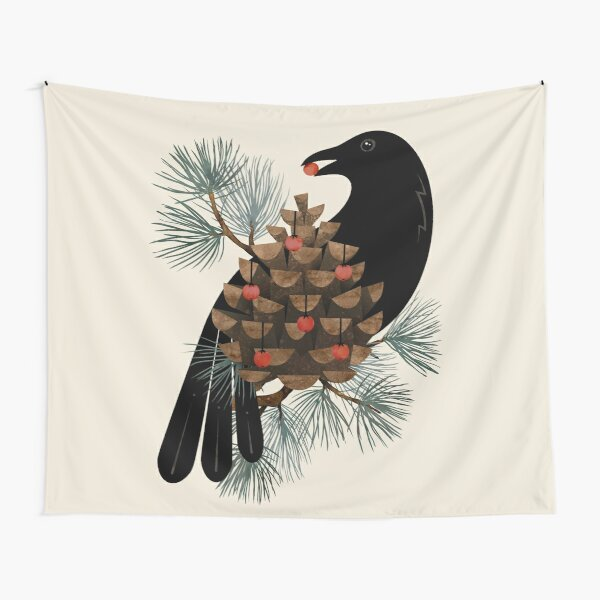 Bird & Berries Tapestry