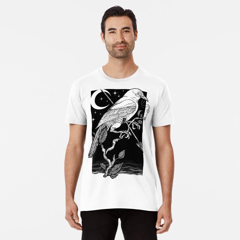 Noche cuervo Camiseta premium