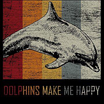 Dolphin favorite animal by GeschenkIdee