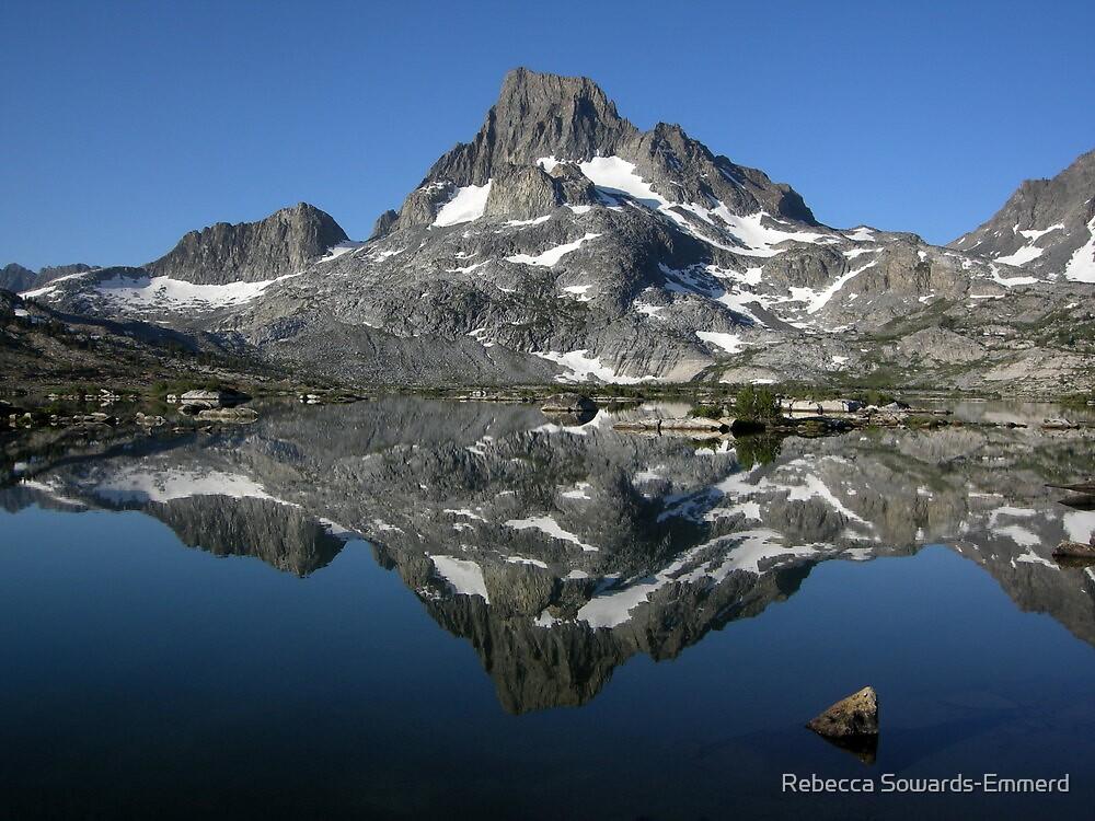 Banner Peak Reflection by Rebecca SowardsEmmerd
