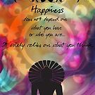 Zen Art Inspirational Buddha Quotes Happiness by JBJart