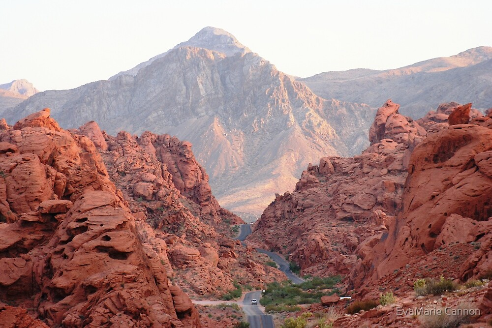Valley of Fire... by EvaMarie Cannon
