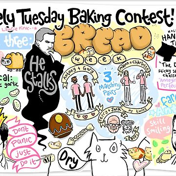 The Lovely Tuesday Baking Contest! Week three: BREAD! by lauriepink