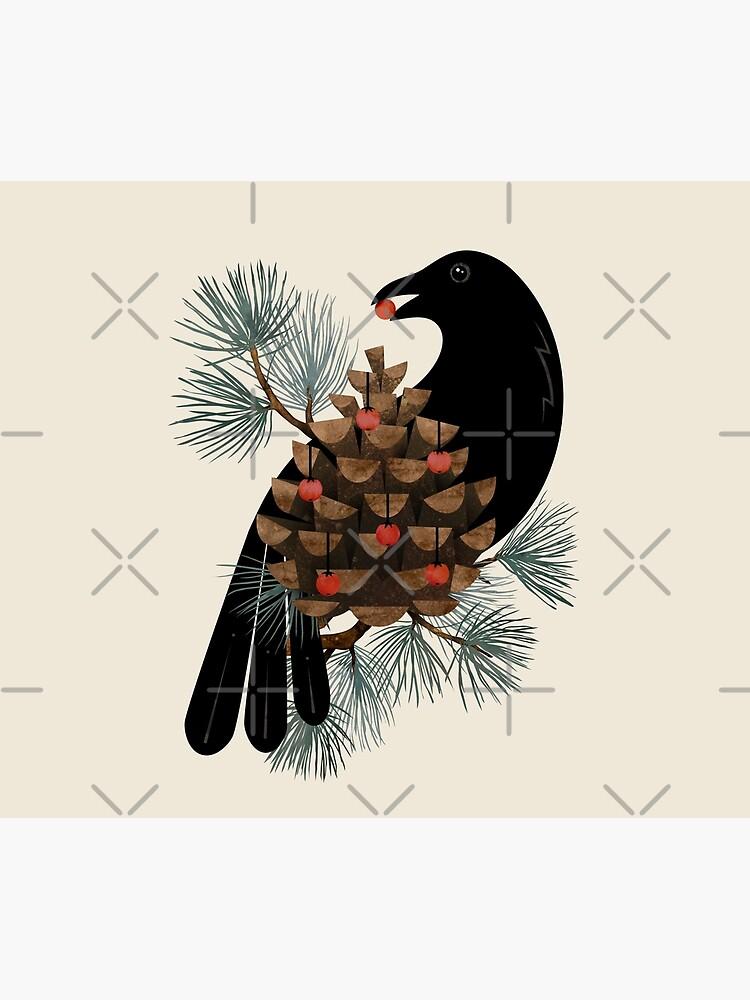 Bird & Berries by littleclyde