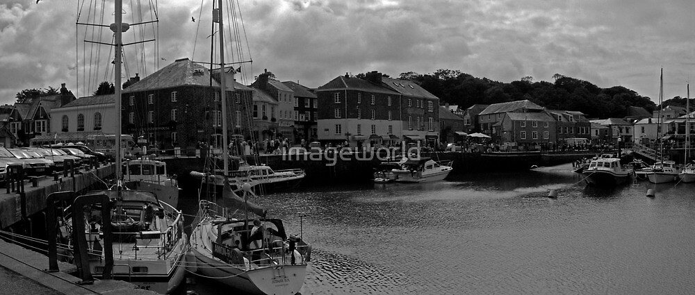 Padstow Harbour by imageworld