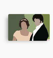 Lizzy and Darcy Canvas Print