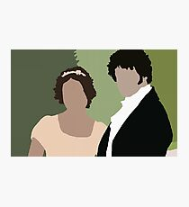 Lizzy and Darcy Photographic Print