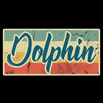 Dolphin ocean fish by GeschenkIdee