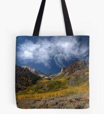 Mount Baldwin and McGee Creek Fall Colors Tote Bag