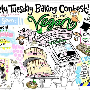 The Lovely Tuesday Baking Contest! Week seven: VEGAN! by lauriepink