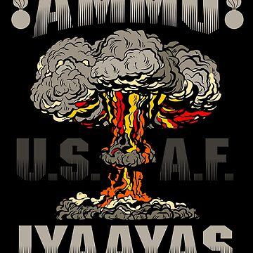 USAF AMMO IYAAYAS Mushroom Cloud by bigtimmystyle