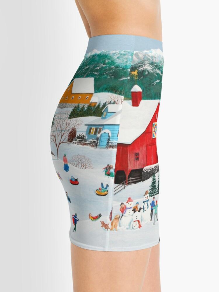 Alternate view of Winter Memories Mini Skirt