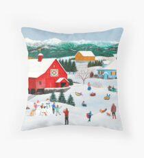 Winter Memories Floor Pillow