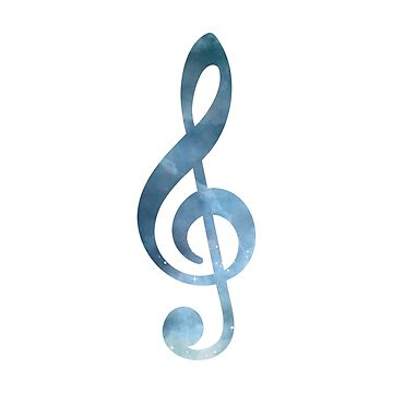 Musical Symbol - Treble Clef by GwendolynFrost
