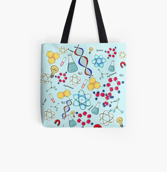 Science chic All Over Print Tote Bag