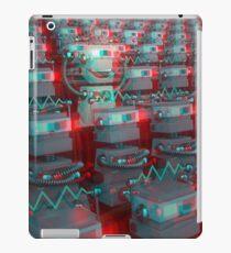 Retro 3D Robot Cinema iPad Case/Skin