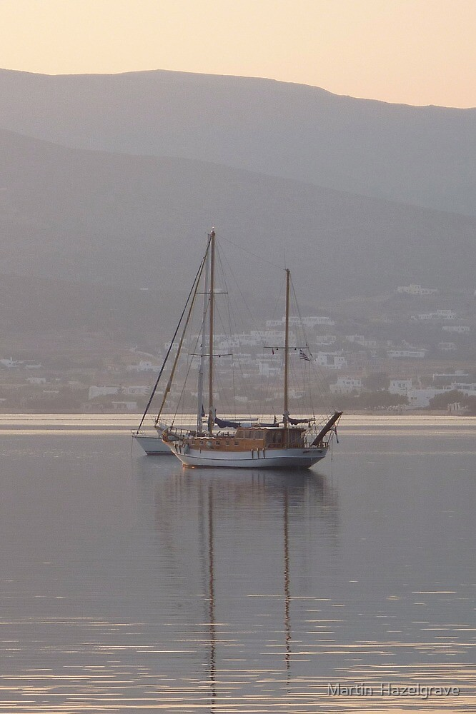 Still waters boats by Martin  Hazelgrave