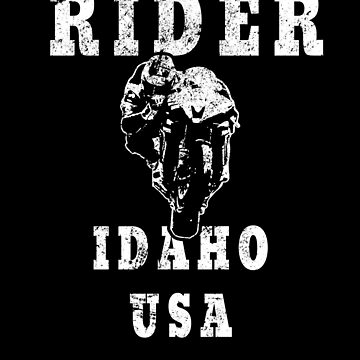 Rider Idaho USA - Used Look Motorcycle Idaho by DennBa