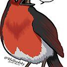 Language robin by hellredsky