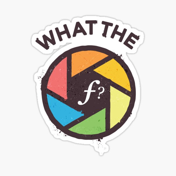 WTF - What the F? Sticker