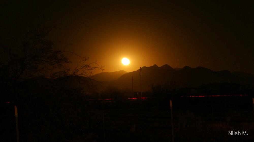 Golden Moon Rise by Nilah M.