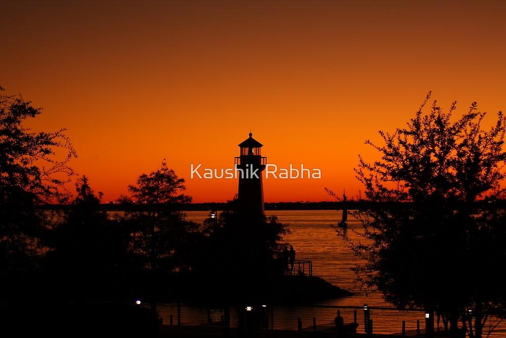 An Evening by Kaushik Rabha