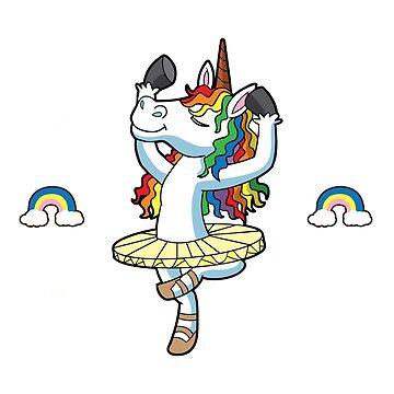 My Spirit Animal Unicorn Ballet by frittata