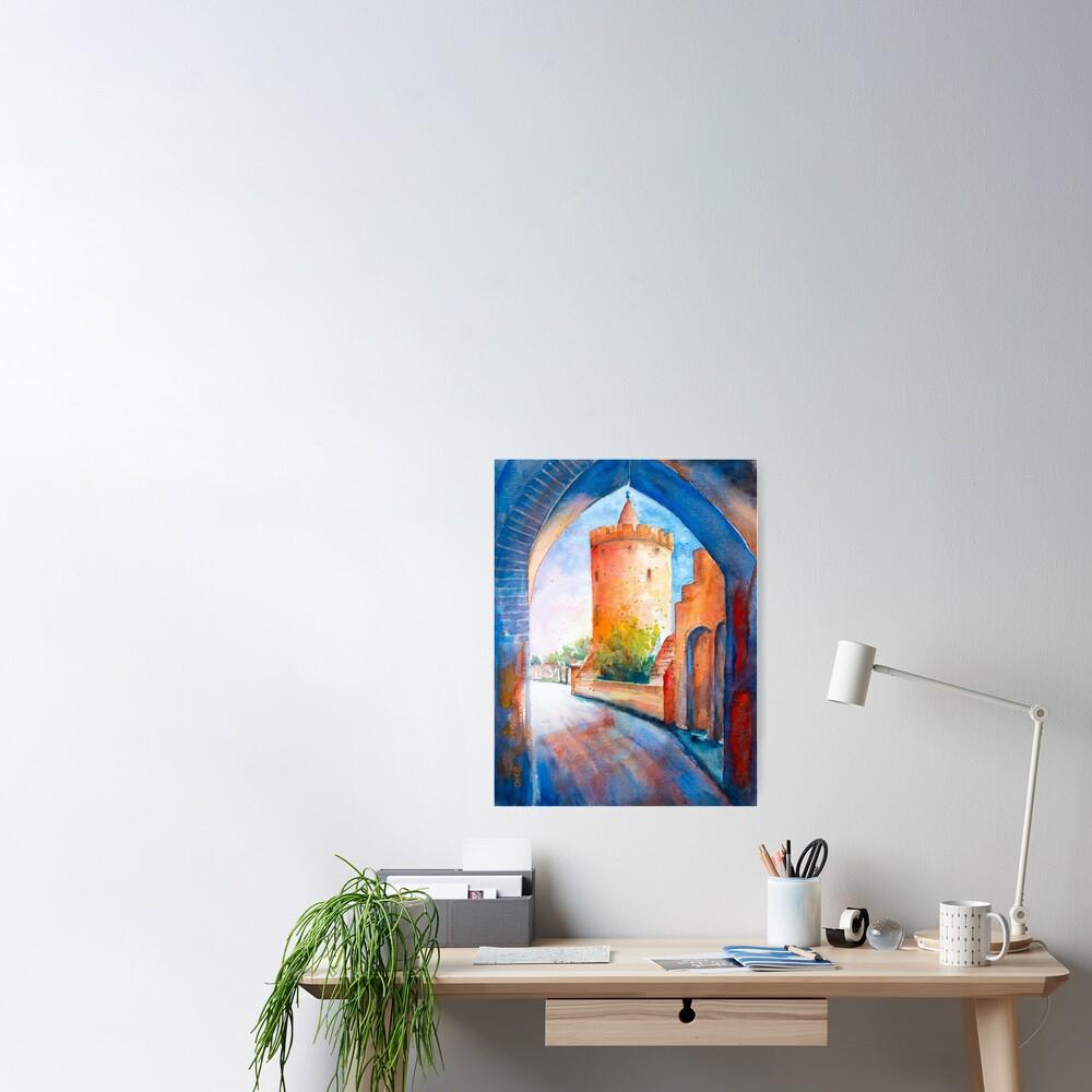 Mittenwalde, Berliner Tor & Powder Tower Poster