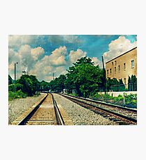 On the Train to Nowhere Photographic Print