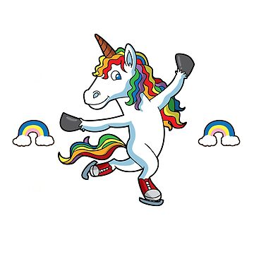 My Spirit Animal Unicorn Figure Skater by frittata