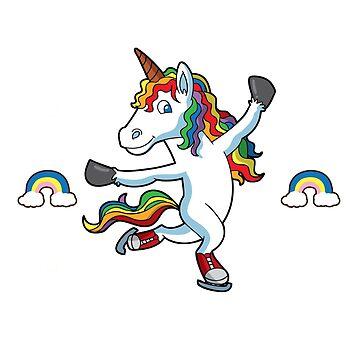 My Spirit Animal Unicorn Figure Skater by frittata