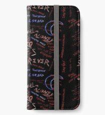 Xxxtentacion - 17 inspired design (black) iPhone Wallet/Case/Skin