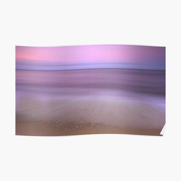 Dusk - sunset at Ella Bay Poster