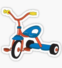 Tricycle Sticker