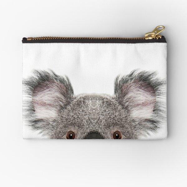 Koala Bear Portrait Zipper Pouch